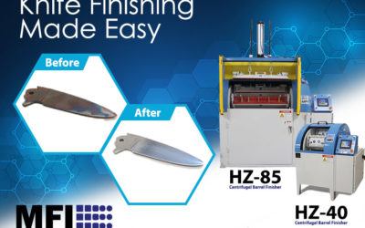 Knife Deburring and Polishing Made Easy